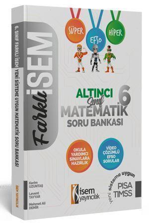 2020 Farklı İsem 6. Sınıf Matematik Soru Bankası