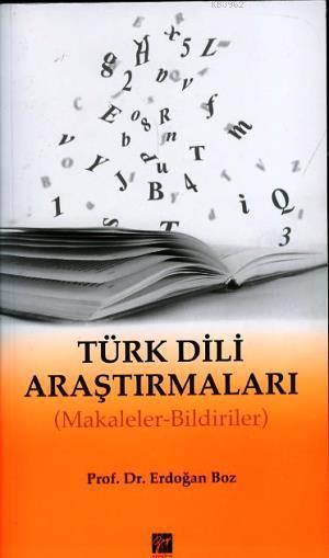 Türk Dili Araştırmaları; Makaleler - Bildiriler