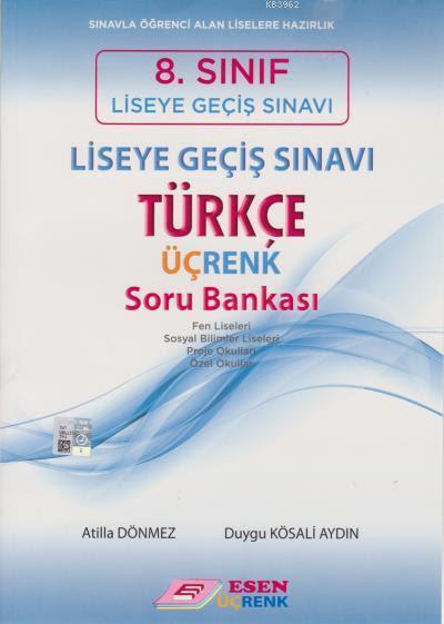 8. Sınıf LGS Türkçe Üçrenk Soru Bankası