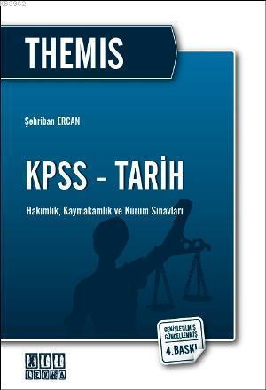 THEMIS KPSS - Tarih; Hakimlik, Kaymakamlık ve Kurum Sınavları