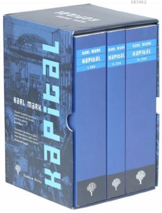 Kapital Kutulu Set 3 Cilt; Ekonomi Politiğin Eleştirisi