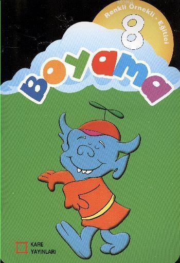 Renkli Örnekli Eğitici Boyama 08