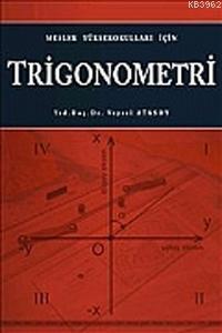 Trigonometri; Meslek Yüksek Okulları İçin