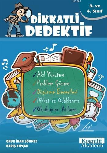 Dikkatli Dedektif - 3. ve 4. Sınıf