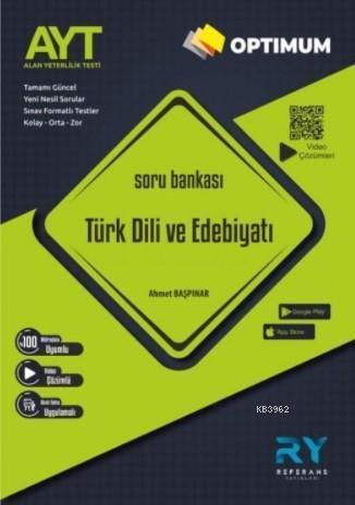 Referans Optimum AYT Türk Dili ve Edebiyatı Soru Bankası Video Çözümlü