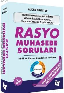 Rasyo Muhasebe Soruları; KPSS ve Kurum Sınavlarına Yardımcı