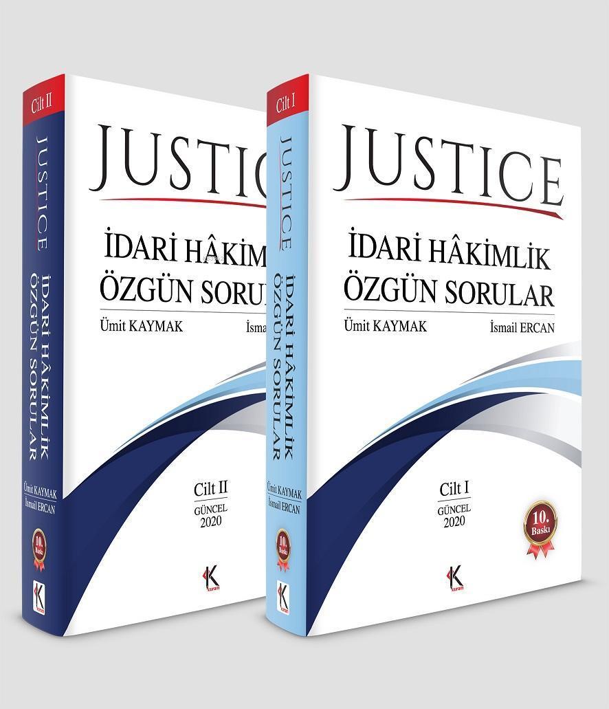Justice - İdari Hakimlik Özgün Sorular (2 Cilt Takım)