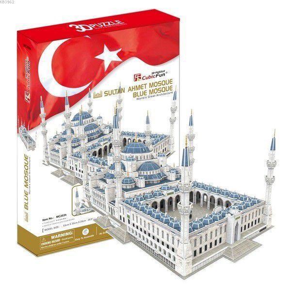 Cubic Fun Mc203H Sultan Ahmet Camii 3D Puzzle