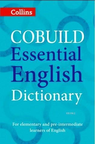 Collins Cobuild Essential English Dictionary