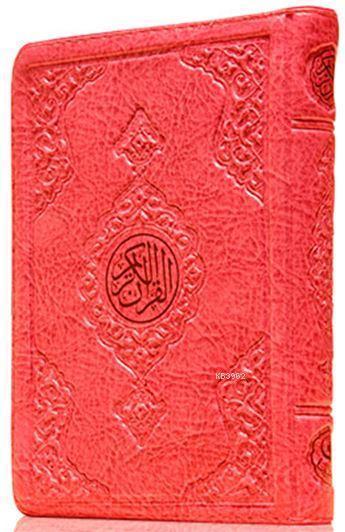 Çanta Boy Kur'an-ı Kerim (Pembe Renk, Kılıflı, Mühürlü)