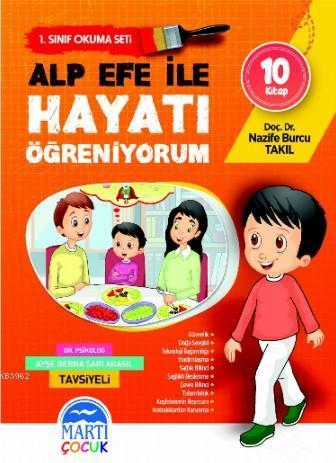 Alp Efe ile Hayatı Öğreniyorum Okuma Seti - İlkokul 1 Sınıf
