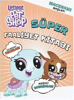 Littes Pet Shop Süper Faaliyet Kitabı; Erindel Kartpostalları