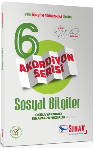Sınav Dergisi Yayınları 6. Sınıf Sosyal Bilgiler Akordiyon Serisi Aç Konu Katla Soru Sınav Dergisi