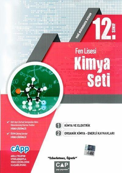Çap Yayınları 12. Sınıf Fen Lisesi Kimya Seti Çap