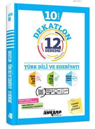 10.Sınıf Türk Dili ve Edebiyatı Dekatlon 12 Deneme