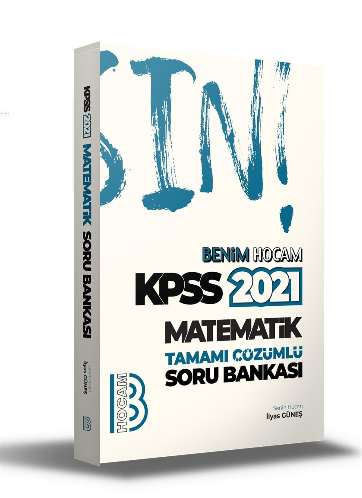 2021 KPSS Matematik Tamamı Çözümlü Soru Bankası Benim Hocam Yayınları