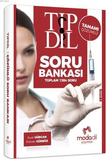 Tıp Dil Tamamı Çözümlü Soru Bankası Modadil Yayınları