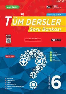SBM Yayınları 6. Sınıf Tüm Dersler Soru Bankası SBM
