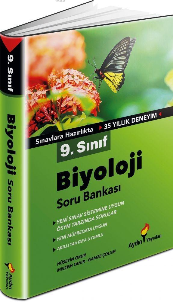 Aydın Yayınları 9. Sınıf Biyoloji Soru Bankası Aydın