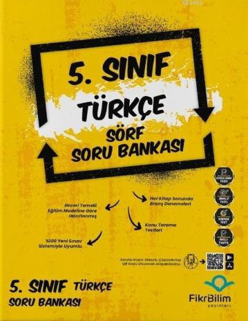 Fikri Bilim 5.Sınıf Türkçe Sörf Soru Bankası