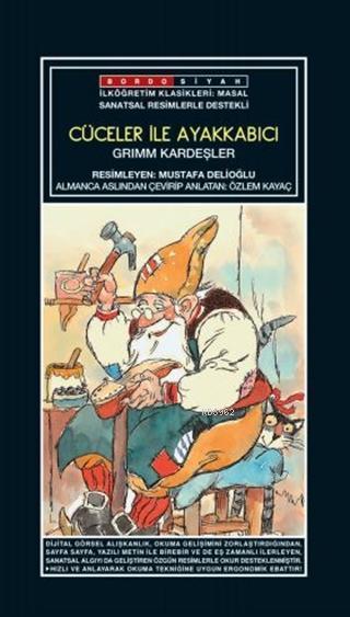 Sanatsal Resimli Cüceler ile Ayakkabıcı; Grimm Masalları