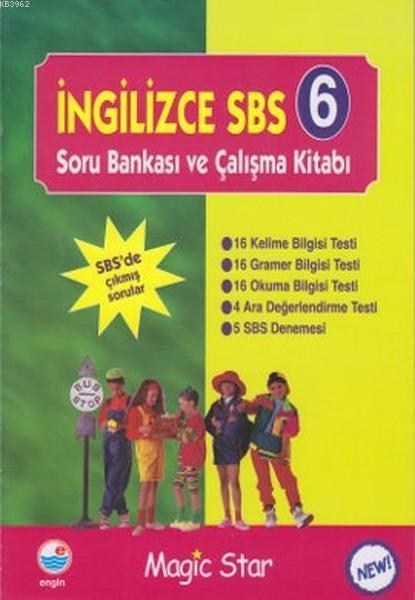 İngilizce SBS 6 - Soru Bankası ve Çalışma Kitabı