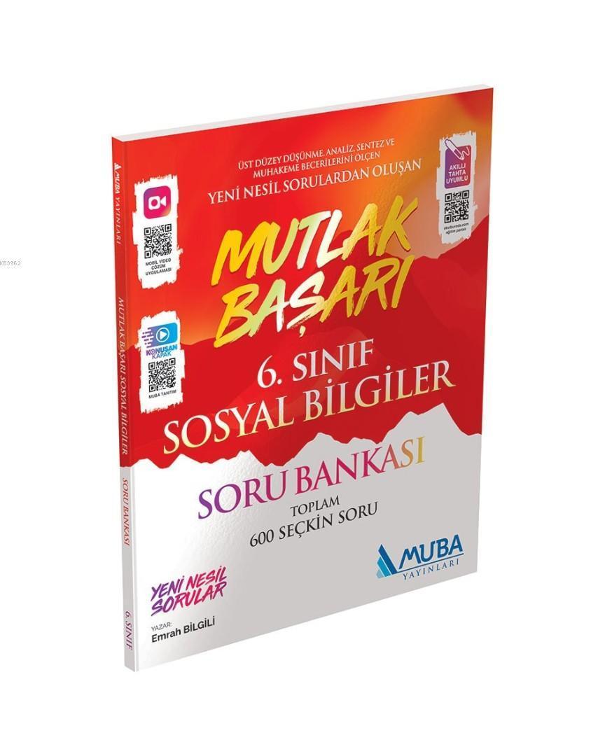 Muba Yayınları 6. Sınıf Sosyal Bilgiler Mutlak Başarı Soru Bankası Muba
