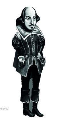 William Shakespeare Karikatür Ayraç