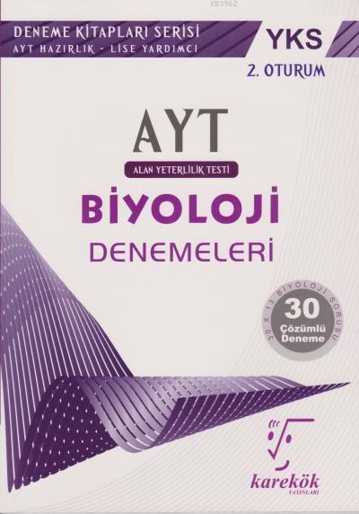 AYT Biyoloji Denemeleri 2. Oturum