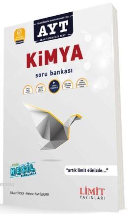 Limit Yayınları AYT Kimya Soru Bankası Limit
