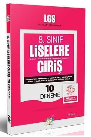 FDD Yayınları 8. Sınıf LGS 10 Deneme FDD