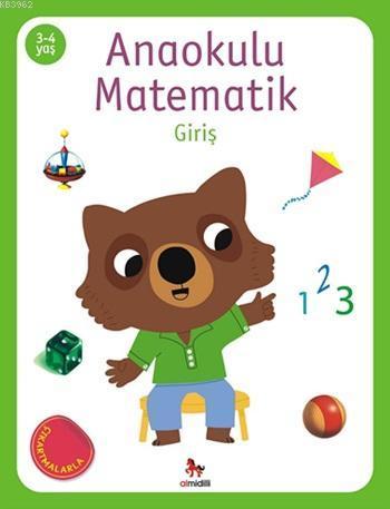 Anaokulu Matematik - Giriş; (Çıkartmalarla), (3-4 Yaş)