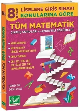 8. Sınıf LGS Konularına Göre Tüm Matematik Çıkmış Soruları ve Ayrıntılı Çözümleri