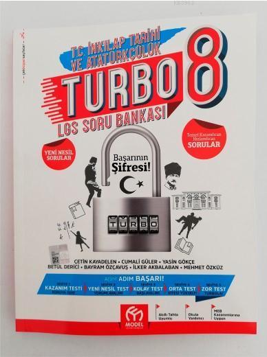 Model Eğitim Yayınları 8. Sınıf Turbo T.C. İnkilap Tarihi ve Atatürkçülük Soru Bankası