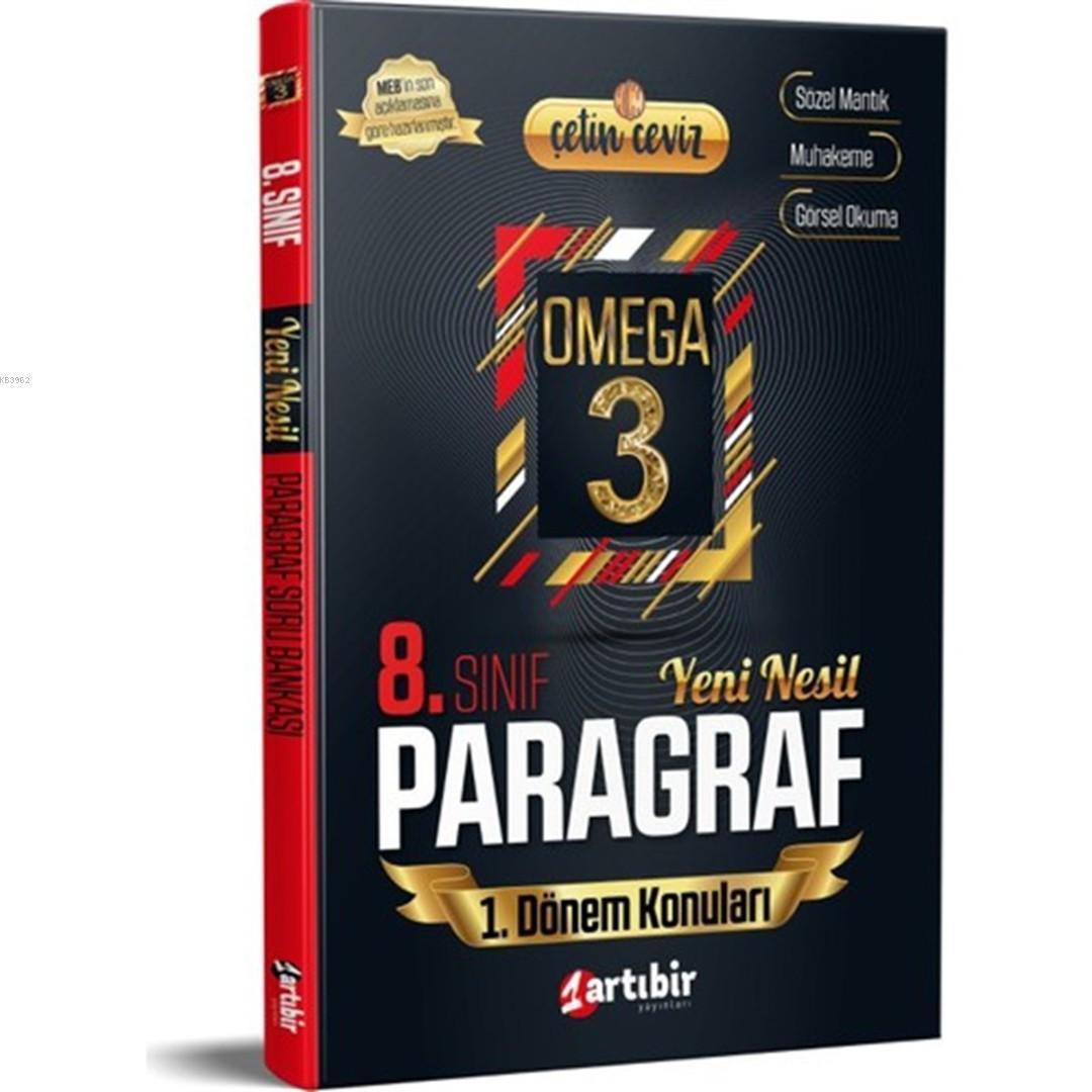 Artıbir Yayınları 8. Sınıf 1. Dönem Konuları LGS Yeni Nesil Paragraf Artıbir