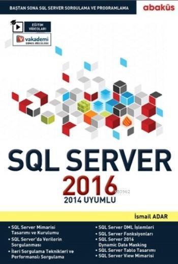 SQL Server 2016 Eğitim Seti; 2014 Uyumlu