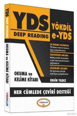 Yediiklim YDS Deep Reading Okuma ve Kelime Kitabı