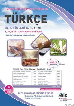 EİS Yayınları YKS Türkçe Ders Anlatım Föyleri EİS