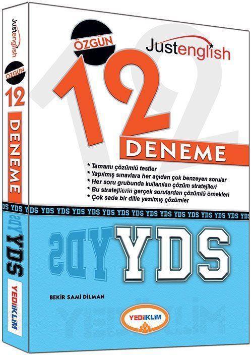 YDS Tamamı Çözümlü 12 Deneme Sınavı