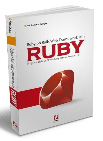 Ruby; Ruby on Rails Web Framework için