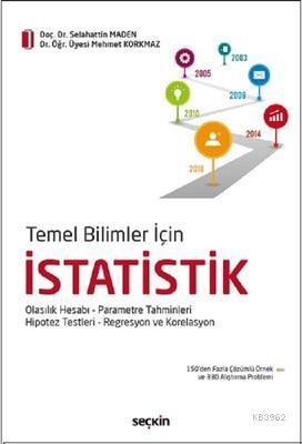 Temel Bilimler için İstatistik