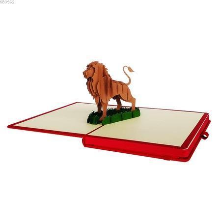 Esseniro  3D Popup Notebook /Lion