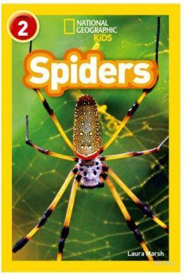 Spiders (Readers 2); National Geographic Kids