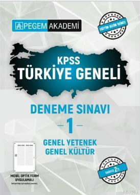 2021 KPSS Genel Kültür Genel Yetenek Türkiye Geneli Deneme Sınavı 1