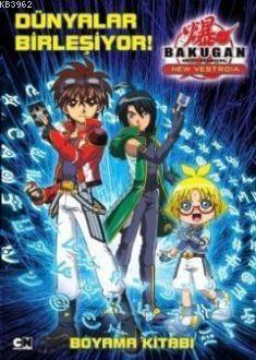 Bakugan - Dünyalar Birleşiyor!; Boyama Kitabı