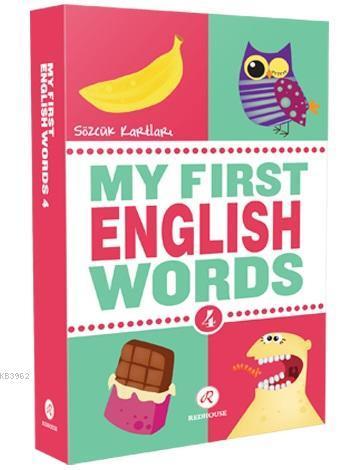 My First English Words 4 (İlk İngilizce Sözcüklerim 4)