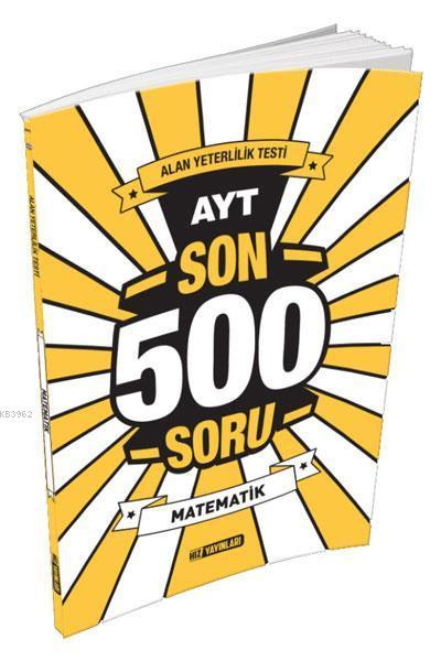 AYT Son 500 Soru Matematik