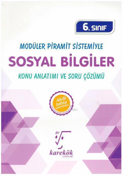 Karekök Yayınları 6. Sınıf Sosyal Bilgiler MPS Konu Anlatımı ve Soru Çözümü Karekök