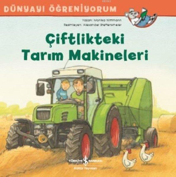 Çiftlikteki Tarım Makineleri