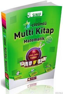 5. Sınıf Matematik E-Çözümlü Multi Kitap